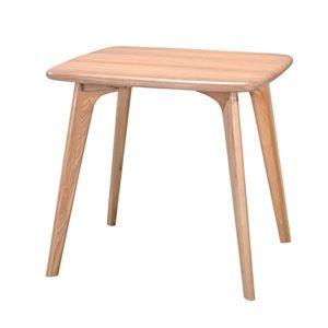 その他 ダイニングテーブル 木製 2人掛けサイズ CL-816TNA ナチュラル ds-690465