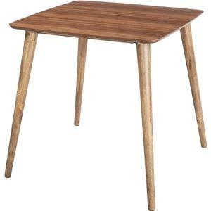 その他 ダイニングテーブル 【Tomte】トムテ 正方形 木製(天然木) TAC-241WAL ds-691530
