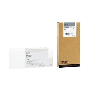 その他 エプソン(EPSON) インクカートリッジ グレー 350ml (PX-H10000/H8000用) ICGY57 ds-826482