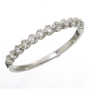 その他 K18 ダイヤハーフエタニティリング ホワイトゴールド 13号 指輪 ds-867622