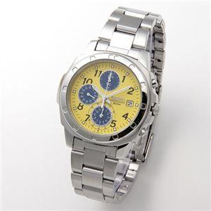 その他 SEIKO(セイコー) 腕時計 クロノグラフ SND409 イエロー ds-452396