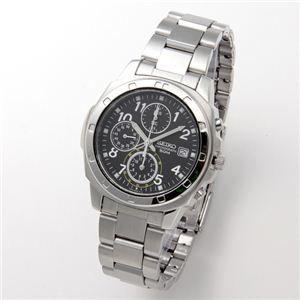 その他 SEIKO(セイコー) 腕時計 クロノグラフ SND195P ブラック/アラビア ds-452400