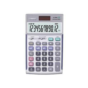 その他 カシオ CASIO 本格実務電卓 12桁 ジャストタイプ JS-20WK 1台 ds-962985