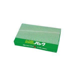 その他 明光商会 シュレッダー用ゴミ袋 MSパック 透明 LLサイズ 1パック(100枚) ds-967714