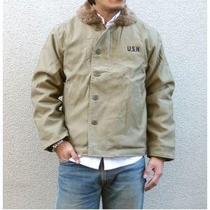 その他 USタイプ 「N-1」 DECK ジャケット JJ105YN カーキ 34( S)サイズ 【 レプリカ 】 ds-1031626