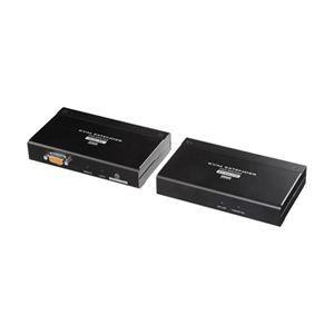 その他 サンワサプライ KVMエクステンダー(PS/2用・セットモデル) VGA-EXKVMP ds-442545