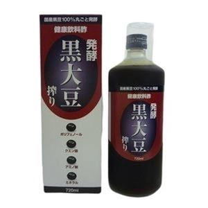 その他 発酵 黒大豆搾り 3本セット ds-499405