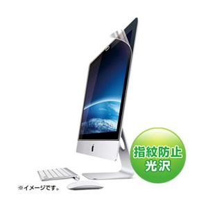 その他 サンワサプライ iMac27.0型ワイド用ブルーライトカット液晶保護フィルム LCD-IM270BC ds-853129