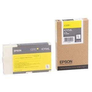 送料無料 その他 純正品 エプソン EPSON インクカートリッジ 単位:1個 推奨 ds-1097963 Lサイズ 信用 型番:ICY54L イエロー