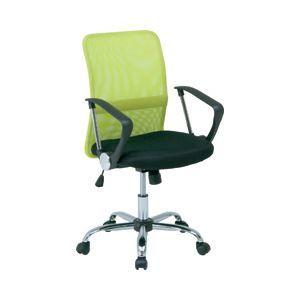 その他 メッシュバックチェア HF-78 グリーン 緑 【リクライニング式オフィスチェアー(OAチェア)】 ds-1098416