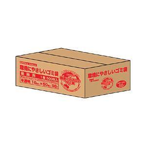 その他 【業務用パック】オリジナルゴミ袋 半透明 90L 1箱(600枚) ds-1101672