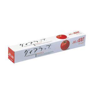 その他 【業務用パック】ダイアラップ 30cm×100m 1箱(30個) ds-1101681