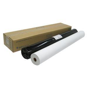 その他 アジア原紙 感熱プロッタ用紙 ハイグレードタイプ KRL-850H 白/黒 2本 ds-1128597