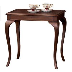 その他 猫足コーヒーテーブル/サイドテーブル 【幅61cm】 木製 『ウェール』 アンティーク調家具 【完成品】 ds-724468