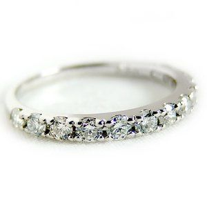 その他 ダイヤモンド リング ハーフエタニティ 0.5ct 10号 プラチナ Pt900 ハーフエタニティリング 指輪 ds-1238502