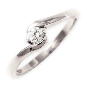その他 ダイヤリング 指輪Sラインリング 15号 ds-1255820