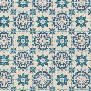 その他 東リ クッションフロアH モロッコタイル 色 CF9003 サイズ 182cm巾×9m 【日本製】 ds-1288960