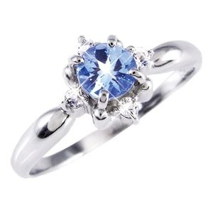 その他 タンザナイト&ダイヤリング 指輪 19号 ds-1313964
