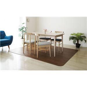その他 アキレス クッションフロアラグマット(床暖房対応) チョコレートブラウン 182×180cm ds-1342157