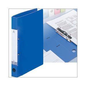 その他 D型リングファイル(A4タテ・2穴) 背幅3.4cm・収容枚数230枚 青 1箱(50冊) G2220-8-ハコ ds-1367890