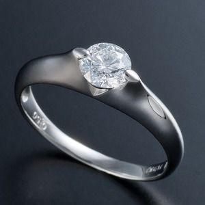 その他 プラチナPt900 0.5ct Dカラー・IFクラス・EXカットダイヤリング 指輪(GIA鑑定書付き) 7号 ds-1409867