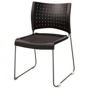 その他 ジョインテックス 会議椅子(スタッキングチェア/ミーティングチェア) 肘なし FM-1 【完成品】 ds-1323533