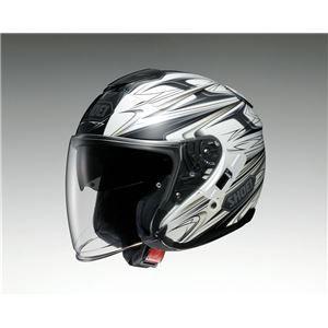 その他 ジェットヘルメット シールド付き J-CRUISE CLEAVE TC-6 ホワイト/グレー L 【バイク用品】 ds-1443091