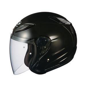 その他 AVAND2 ジェットヘルメット シールド付き ブラックメタリック M 【バイク用品】 ds-1444203