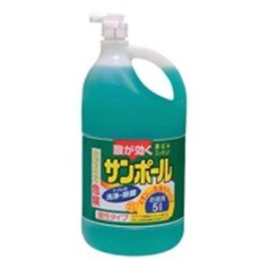 その他 (業務用20セット)大日本除蟲菊 サンポール 業務用 5L ds-1461110