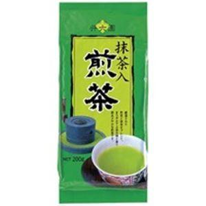 その他 (業務用20セット)井六園 抹茶入徳用煎茶 200g ×20セット ds-1462089