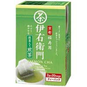 その他 (業務用70セット)宇治の露製茶 伊右衛門抹茶入煎茶ティバッグ 20P入1箱 ds-1462552