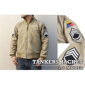 その他 映画『フューリー』モデルタンカースジャケット JJ168YN 38( M相当)サイズ ds-1454266