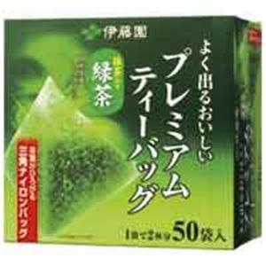 その他 (業務用20セット)伊藤園 プレミアムティーバッグ 緑茶50P ds-1464898