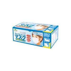 その他 (業務用40セット)東京サラヤ フェイスフィットマスク ふつう 50枚 ds-1474600