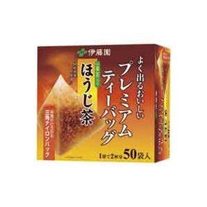 その他 (業務用20セット)伊藤園 プレミアムティーバッグ ほうじ茶 50バッグ ds-1474642