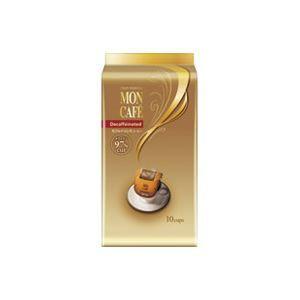 その他 (業務用20セット)片岡物産 モンカフェ カフェインレスコーヒー 10袋 ds-1474678