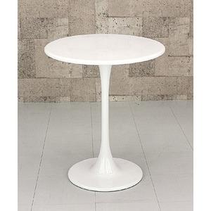その他 ラウンドテーブル/ハイテーブル 【丸型/直径60cm】 FRP(強化プラスチック)製 ホワイト(白)【代引不可】 ds-1224206