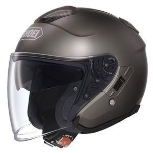 その他 ジェットヘルメット シールド付き J-CRUISE アンスラサイトメタリック M 【バイク用品】 ds-1442760