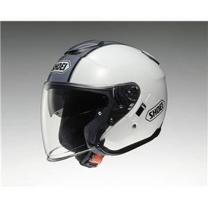 その他 ジェットヘルメット シールド付き J-CRUISE CORSO TC-6 ホワイト/シルバー L 【バイク用品】 ds-1442894