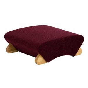 その他 デザイン座椅子 脚:クリア/布:ワインレッド 【Mona.Dee モナディー】WAS-F ds-1486259
