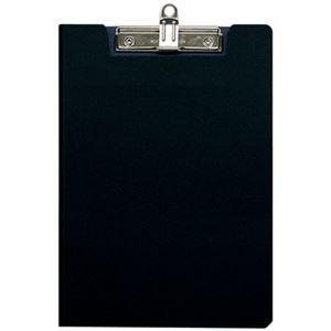 その他 (業務用セット)ナカバヤシ クリップボードカバータイプ A42つ折り ブラック QBC-A4ED【×10セット】 ds-1521787
