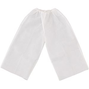 その他 (まとめ)アーテック 衣装ベース 【J ズボン】 不織布 ホワイト(白) 【×30セット】 ds-1562400