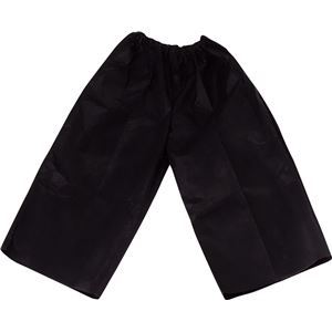 その他 (まとめ)アーテック 衣装ベース 【J ズボン】 不織布 ブラック(黒) 【×30セット】 ds-1562401
