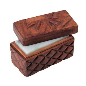 その他 (まとめ)アーテック 木彫印かん小箱 ミニ 【×15セット】 ds-1563197