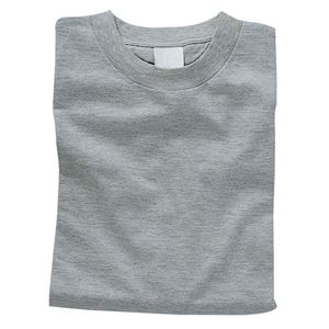 その他 (まとめ)アーテック カラーTシャツ 綿100% 半袖 無地 杢グレー 【×15セット】 ds-1565608