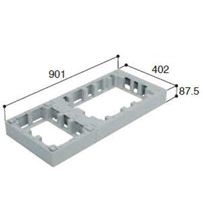 城東テクノ ハウスステップオプション アジャスター1段 CUB-6040-H1