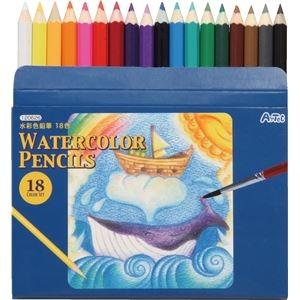 その他 (まとめ)アーテック 水彩色鉛筆18色 【×40セット】 ds-1567082