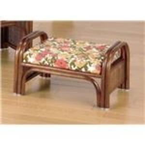 その他 天然籐らくらく座椅子2脚組 【ロータイプ】 座面高23cm (リビング/玄関)【代引不可】 ds-1569449