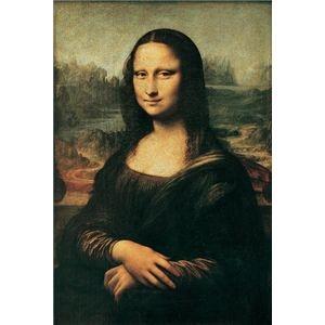 その他 世界の名画シリーズ、プリハード複製画 レオナルド・ダ・ヴィンチ作 「モナ・リザ」【代引不可】 ds-193535