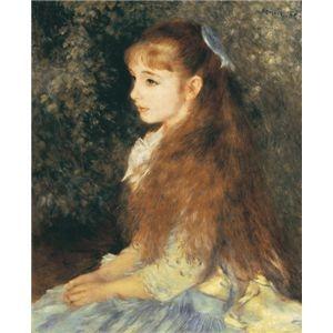 その他 世界の名画シリーズ、プリハード複製画 ピエール・オーギュスト・ルノアール作 「イレーヌ・カーン・ダンヴェルス嬢の肖像」【代引不可】 ds-193549